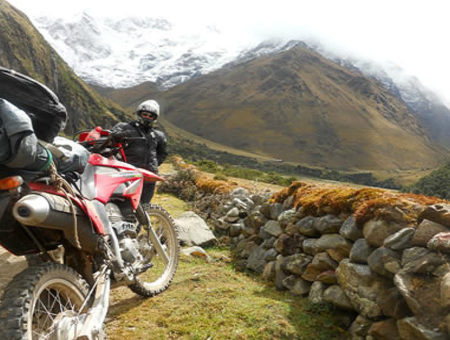 motorcycling sacred valley
