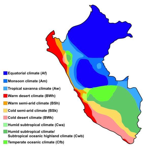 Climate of Peru